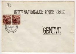 Suisse : Camp D'Internement 1940 : Lettre - Cachet Lotzwil - Brieven En Documenten