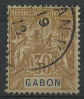 Gabon (1904) N 24 (o) - Oblitérés