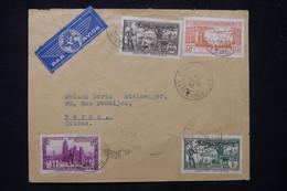 CÔTE D'IVOIRE - Enveloppe De Bobo Dioulasso Pour La Suisse Par Avion En 1941 - L 77406 - Briefe U. Dokumente