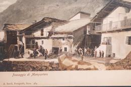 Cartolina - Paesaggio Di Mompantero - 1900 Ca. - Non Classificati