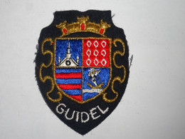 Blason écusson Tissu Feutrine  Guidel Wappen Coat Arms, Patch, Scudo, Stemma - Recordatorios