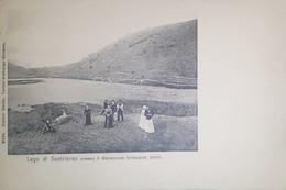Cartolina - Lago Di Sestrières Presso Il Baraccone - 1900 Ca. - Non Classificati