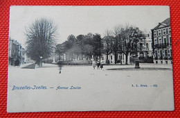 "BRUXELLES  -  BRUSSEL -   "" Avenue Louise "" - Bauwerke, Gebäude"