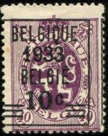 COB  375 A (*) / Yvert Et Tellier N° 375 A (*) - 1929-1937 Heraldic Lion