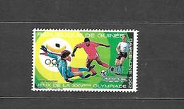 Olympische Spelen  1992, Guinea -   Zegel Met Opdruk Postfris - Summer 1992: Barcelona