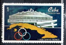 Cuba 1969 - Cartina Map MNH ** - Nuevos