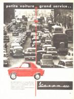 "PUB   "" VESPA 400  ""    1960  ( 1 ) - Other"