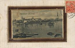 Tallinn Reval  Mechanical Card . 6 Views Inside .  P. Used To Santa Clara Cuba - Estland