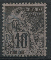 Nouvelle Caledonie (1892) N 25 (o) - Usados