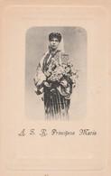 CPA:ROUMANIE A.S.R. PRINCIPESA MARIA AVEC BOUQUET DE FLEURS - Rumänien