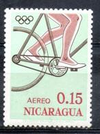 Nicaragua 1963 -  Ciclismo Cycling  MNH ** - Nicaragua