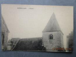 CPA 08 Ardennes ANNELLES Prés Rethel Le Clocher De L'église Saint Sulpice Cliché Dubreuil  édit. Coopérative Alimentaire - Rethel