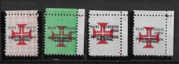 Portuguese GUINEA 1967 Tax Stamps - Value Below Cross SET MNH (STB1#44) - Portugiesisch-Guinea