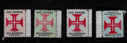 Portuguese GUINEA 1967 Tax Stamps - Value On Right Side SET MNH (STB1#45) - Portugiesisch-Guinea