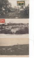 Chateaurenault ; Lot De 12 Cartes Postales Anciennes ; Réf536abc_539abc - Autres Communes