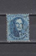 COB 15 Oblitéré Lpts N.I Nord 1 + 6 - 1863-1864 Medaillen (13/16)