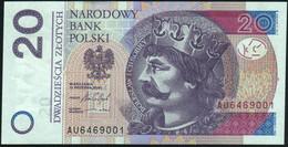 ♛ POLAND - 20 Zlotych 15.09.2016 {Narodowy Bank Polski} UNC P.184 B - Polen