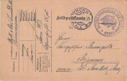 Feuerwehr - Feldpost 1916 - Militär Feuerwehr Der Festung Thorn Westpreußen - Wojskowa Straż Pożarna - Toruń, - Covers