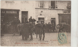 CPA   21 DIJON  INVENTAIRE DES EGLISES 3 FEVRIER 1906 - Dijon