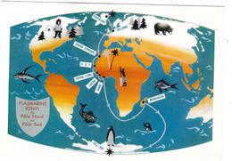 Carte Publicitaire - Groenland - Plasmarine - Godthaab - Expéditions Arctiques