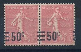 DT-301: FRANCE: Lot Avec N°224c**(paire) - Curiosa: 1921-30 Postfris