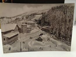 Cartolina   Abetone Prov Pistoia Panorama Invernale Del Passo 1954 - Pistoia
