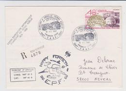 TAAF - Dumont D'urville - 40ème Anniversaire Des EPF - Recommandé - Lettres & Documents