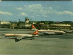 SWITZERLAND AIRPORT - FLUGHAFEN ZURICH-KLOTEN - SWISSAIR - VERLAG E. BAUMANN - 1960s (BG10275) - Otros