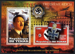 2012 Leaders Of The Second World War - Adolf Hitler Perf Sheetlet Containing 2 Values U/M - Other