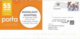 BRD / Bund Frechen Dialogpost DV 10.20 0,30 Euro FRW Familie 2020 Porta Möbel Moonlight-Shopping - Covers