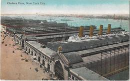NEW YORK -- Manhattan -Chelsea Piers - Manhattan