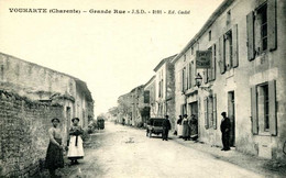 VOUHARTE  =  Grande Rue  1806 - Other Municipalities