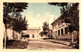 47----MONSEMPRON-LIBOS---la Gare Et La Poste LOT 4100 - Andere Gemeenten
