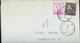 Doc. De EDEGEM  - B 2 B - Du 26/05/66 En Rec. ( E ) - Landpost (Ruralpost)