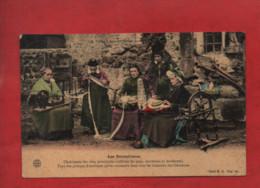 CPA - Les Dentellières -( Coiffes , Costumes - Ouvrières Des Hameaux Des Cevennes ) - Sonstige Gemeinden