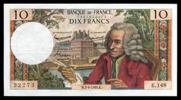 10F Voltaire  01.04.65 - E 148 - SUP - Fay : 62.14 - 10 F 1963-1973 ''Voltaire''