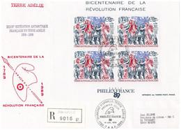 TAAF - Dumont D'urville - Paul Emile Victor -bf 1- Revolution Philex France - Non Classés