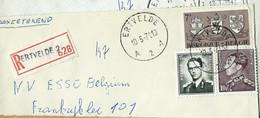Doc. De ERTVELDE - A 2 A - Du 10/05/71  En Rec. ( E ) - Landpost (Ruralpost)