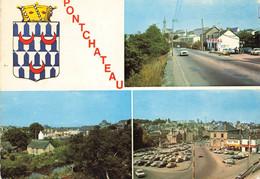 PONTCHATEAU ,  Arrivée Par La Route De Nantes, Vue Générale, Place De La Mairie, Station Total - Pontchâteau