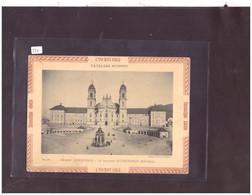 "PHOTO CARTONNEE FORMAT 13x17cm - EINSIEDELN KLOSTER - PUBLICITE LESSIVE "" L'INCROYABLE "" - TB - SZ Schwyz"