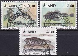 ALAND 1997 Mi-Nr. 124/26 O Used - Aus Abo - Aland