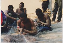 Afrique - Sénégal - Pêcheurs à M'Bour - 182X125 - Africa