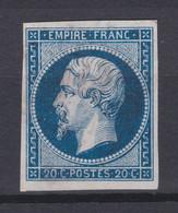 FRANCE  : 20 Centimes Oblitéré   Paypal Ok - 1853-1860 Napoléon III.