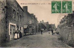 S46-007 Roz Sur Couesnon - Arrivée Du Troupeau - Otros Municipios