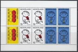 NIEDERLANDE Block 8, Postfrisch **, Zeichnungen Von Dick Bruna, 1969 - Bloques
