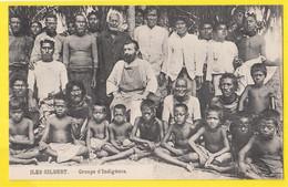 ILES GILBERT KIRIBATI Groupes D'indigènes - Micronesia