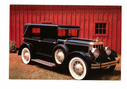 DEARBORN, Michigan, USA,1928 Franklin, Henry Ford Museum, 1989 4x6 Chrome Postcard - PKW
