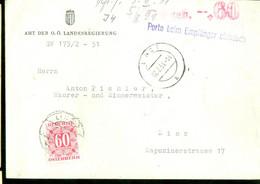 TAXE * PORT BELAST * POSTSTUK Uit 1951 Van  LINZ OSTERREICH  (11.851b) - Segnatasse