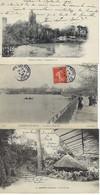 FRANCE - 5 CARTES - Enghien Les Bains - 1903 / 1907 - Enghien Les Bains