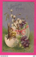 CPA   (Réf: Z 2745) (FÊTES-PÂQUES) JOYEUSES PÂQUES - Pasqua
